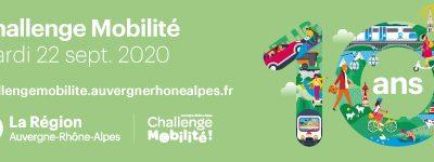 Le Challenge Mobilité Régional est reporté !