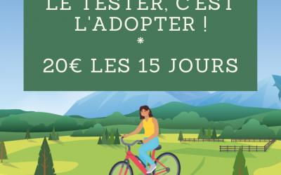 Location de vélos à assistance électrique (VAE)