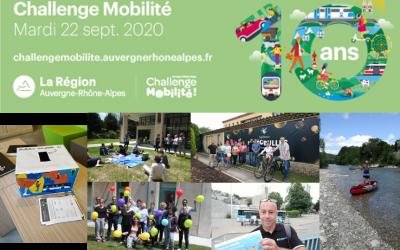 Créez un événement mobilité dans votre établissement : participez au Challenge Mobilité Auvergne-Rhône-Alpes
