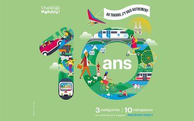 Bilan du Challenge Mobilité Régional 10e édition