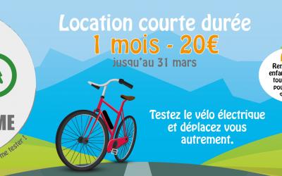 Location de vélos à assistance électrique : offre d'hiver
