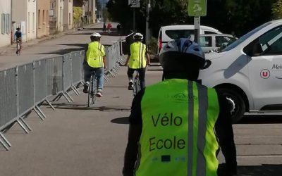 Stand multimodal et Vélo-école lors du TCFIA à St-Jean-en-Royans